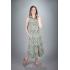 Платье из льна Ариэль (листья)