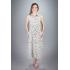 Платье из льна Ариэль (цветы)