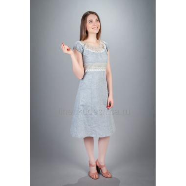 Платье из льна Ассоль