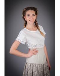 Блузка из льна Анастасия