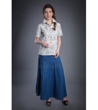 Сорочка из льна Люси (узор)