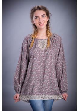 Рубашка из вискозы Кувшинка