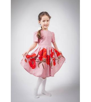 Платье из льна Макуша