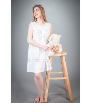 Сорочка из батиста Жемчуг