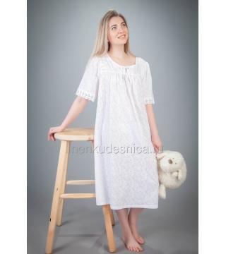 Сорочка из батиста Лебедушка