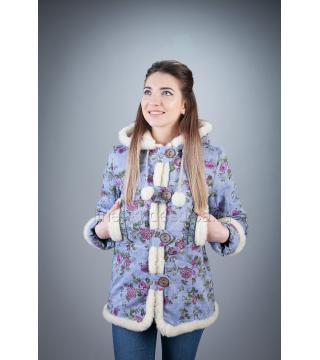 Куртка из льна на меху Теплушка