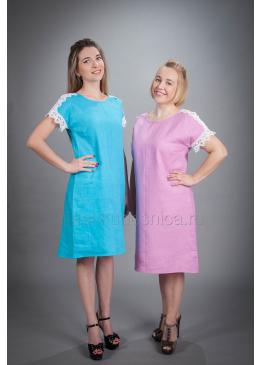 Платье из льна Анастасия