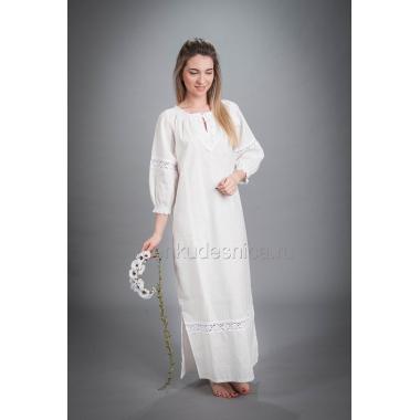 Рубаха из льна Крестильная, 40-42 размер