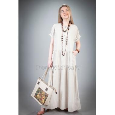 Платье из льна Душечка