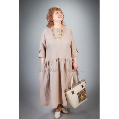 Платье из льна Ириска