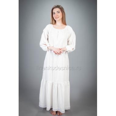 Платье из льна Первоцвет