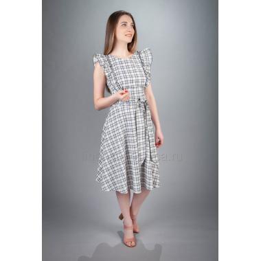 Платье из льна Полина (миди)
