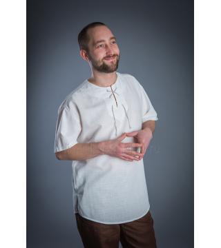 Рубашка из льна Рандеву