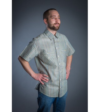 Рубашка из льна Техас