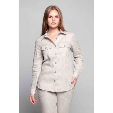 Рубашка из льна 21-01