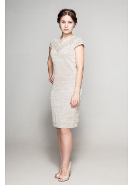 Платье из льна 14-13