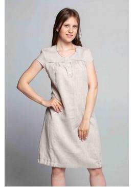 Платье из льна 14-17