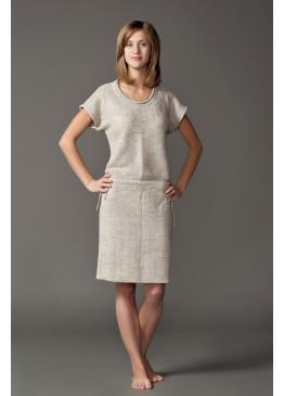 Платье из льна 14-08
