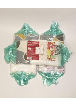 Комплект полотенец подарочный п/л  50х70  Карамелька