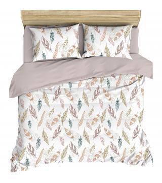 """Комплект льняного постельного белья """"Вдохновение"""" Полутороспальный"""